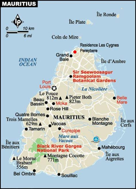 Bungalow location in mauritius pereybere - Meteo port louis ile maurice ...